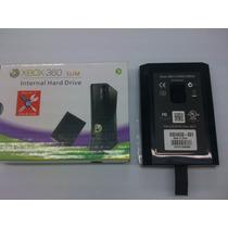 Case Hd Xbox 360 Slim Preto - Pronta Entrega Pode Retirar