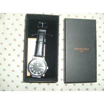 Relógio De Pulso Masculino Modelo Mc8183 Fioremc-monte Carlo