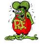 Adesivo Rat Fink