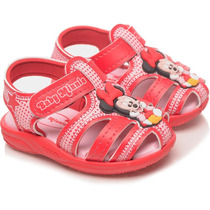 Sandália Infantil Minnie Vermelha - Grendene Kids