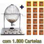 Combo: Bingo Nº 3 Completo + 1.500 Cartelas + 300 Cartelas