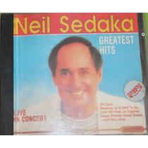 Cd Original Neil Sedaka Greatest Hits Live In Concert /
