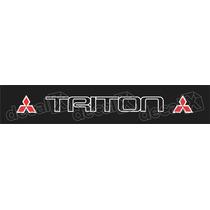 Adesivo Para Parabrisa L200 Triton - Decalx