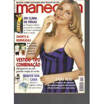 Revista Manequim Ed. 457-n º 1-janeiro/1998-ed Abril
