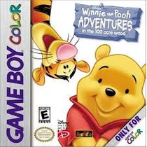 Cartucho Urso Pooh Game Boy Collor / Advanced / Sp Original