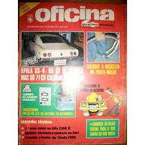 Revista 4 Rodas Oficina Opala Ss4 3800 Alfa 2300b Velas Dart