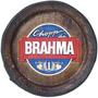 Quadro Tampa De Barril Decorativa Grande Brahma
