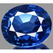 Safira Azul Caximira Natural De 7.40cts 10x12mm
