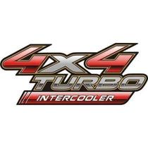 Emblema Adesivo Hilux 4x4 Turbo Intercooler