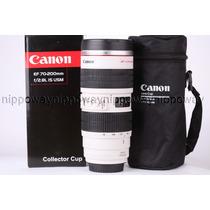 Copo Caneca Canon Lente 70-200 2.8 L Lens Cup Aluminio