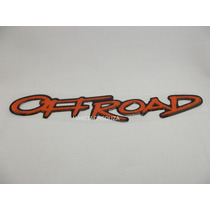 Emblema Adesivo Offroad (off Road) Montana Resinado