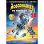 Dvd Original Do Filme Os Mosconautos No Mundo Da Lua 3d