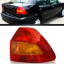 Lanterna Fiesta Sedan 2001 2002 2003 01 02 03 Tricolor