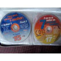 2 Cds Da Revista Pc Expert Nº 15 E 17 Por R$15