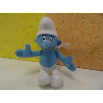 Boneco Smurfs Pelucia 100 % Lavavel
