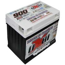 Bateria De Som Oxhi Bass 100ah/900pico Som Automotivo