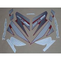 Kit Adesivos Honda Cbx Twister 250 2007 Vermelha - Decalx