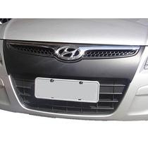 Aplique Preto Fosco Parachoque Hyundai I30