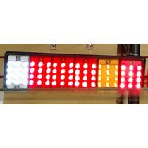 Lanterna De Led Traseira Para Caminhão 24 Volts Str ,72 Leds