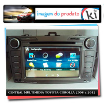 Central Multimidia Toyota Corolla 2008 A 2012