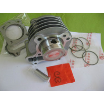 Kit 80cc Parcial P/scooter 50cc 4 Tempos - Fox / Max / Bee