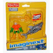 Dc Imaginext Aquaman & Robot Shark Pronta Entrega
