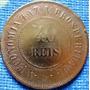 Moeda Bronze 40 Reis 1908 República (mbc) 7bb