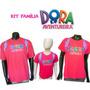 Kit Família Aniversário Personalizado Dora Aventureira