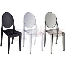 Cadeira Sophia Louis Ghost Em Pc S/ Braço - Cozinha/jantar