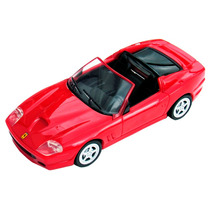 Carrinho Miniatura Ferrari Superamerica Shell 1/38 Hot Wheel