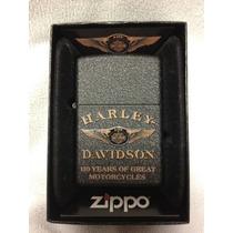 Zippo Usa Lançamento ~ Harley Davidson Comemorativo 110th
