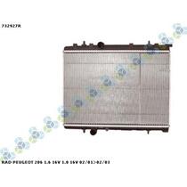 Radiador Peugeot 206 1.6 16v 1.0 16v 01/03