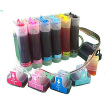 Bulk Ink Hp Photosmart Cartuchos 02 + 600ml Tiintas Vivera