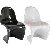 Cadeira Panton Em Abs - Sala Jantar/cozinha/lazer/eventos