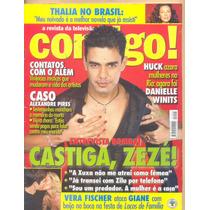 Contigo! N° 1291 - 13.06.2000 - Zezé Di Camargo / Novelas