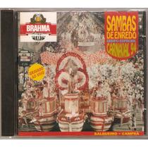 Cd Sambas De Enredo - Grupo Especial - Carnaval 94 - Novo***