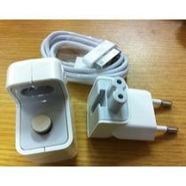 Carregador Original Para Ipod, Iphone E Ipad Apple + Cabo