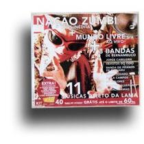 Cd Trip Nação Zumbi -cd Revista Trip Mundo Livre Manguebeat