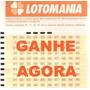Ganhe Na Lotomania - Jogue C\ 60, 70, 85, 90 E 95 Dezenas
