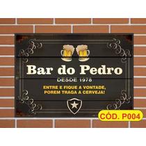 Quadros Personalizados Cervejas Time De Futebol
