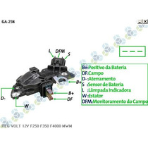 Regulador De Voltagem Cummins F250 Mwm 14v - Gauss