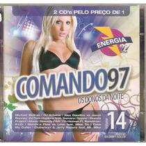 Cd Duplo Comando 97 - Os Donos Da Noite - Novo***