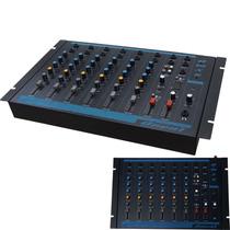 Mesa De Som Oneal Omx 6 C/ 6 Canais Maxcomp Musical