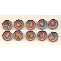 Coleção 10 Tampinhas Refrigerante Coca Cola Olimpiadas 2012