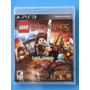 Lego The Lord Of The Rings - Ps3 - Lacrado - Pronta Entrega.