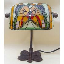 Abajur Borboleta Murano Estilo Tiffany Importado 4556