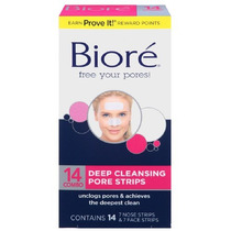 Bioré Deep Cleansing Pore Mascara Removedora De Cravos Facil