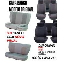 Capa De Banco Todos Os Carros Tecido Original