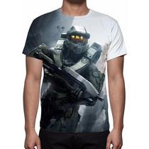 Camisa, Camiseta Game Halo 5 Guardians - Masterchief