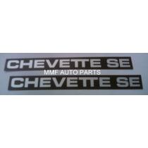 Plaqueta Friso Chevette Se Mmf Auto Parts